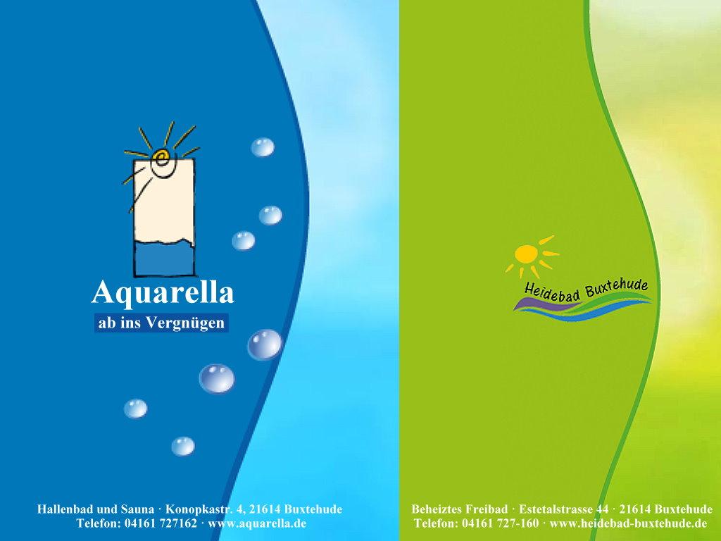 Aquarella Heidebad Buxtehude