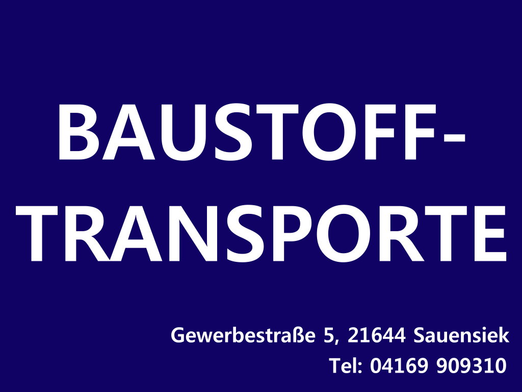 Baustofftransporte